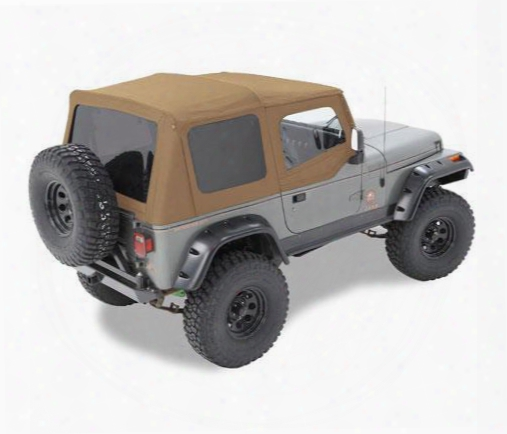 Jeep Yj Soft Top - Bestop Supertop Nx W/ Tinted Windows 54601-37