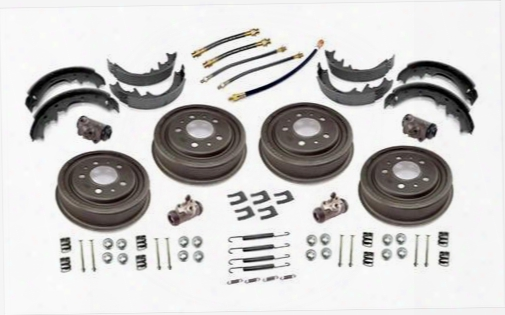 Omix-ada Omix-ada Front And Rear Drum Brake Overhaul Kit - 16767.03 16767.03 Drum Brake Complete Kit