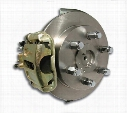 Stainless Steel Brakes Stainless Steel Brakes Drum To Disc Brake Conversion Kit (Natural) - A126 A126 Disc Brake Conversion Kits