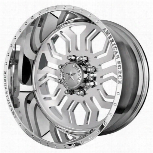 American Force Wheels American Force 22x12 Wheel Hawk Ss - Polish- Aft51186 Aft51186 American Force Wheels