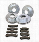 Stainless Steel Brakes Stainless Steel Brakes Turbo Slotted Rotors - A2351028 A2351028 Disc Brake Pad and Rotor Kits