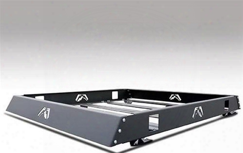 Fab Fours Fab Fours 48 Inch Modular Roof Rack In Black Matte Powder Coat - Rr48-1 Rr48-1 Roof Rack
