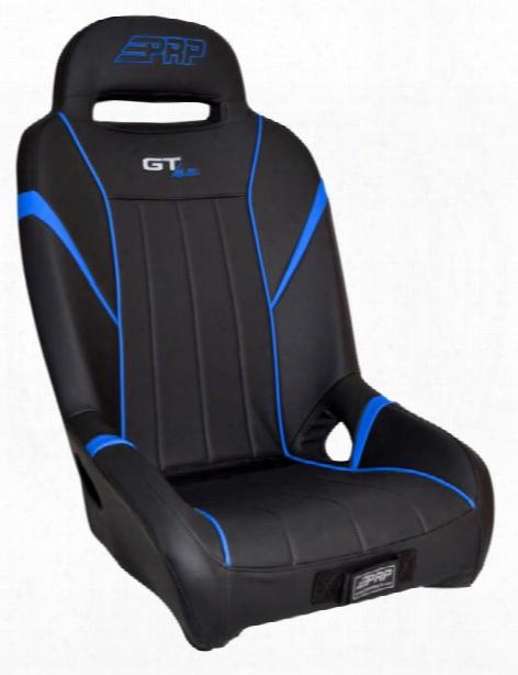 Prp Prp Gt/s.e. Suspension Seat, Black And Blue - A58-v A58-v Utv Seats