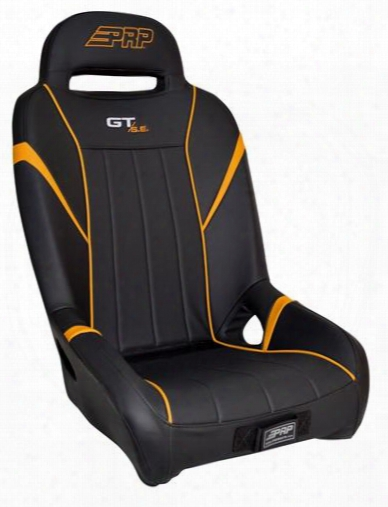 Prp Prp Gt/s.e. Suspension Seat, Black And Orange - A58-207 A58-207 Utv Seats