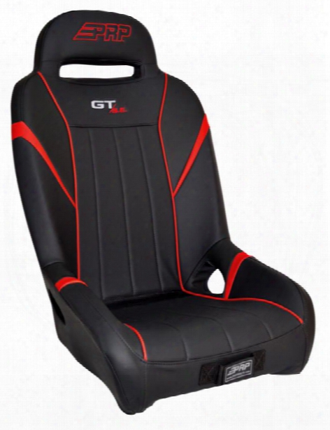 Prp Prp Gt/s.e. Suspension Seat, Black And Red - A58-237 A58-237 Utv Seats