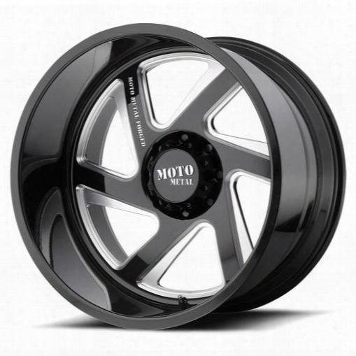 Moto Metal Moto Metal Mo400, 22x10 Wheel With 5x5.5 Bolt Pattern - Gloss Black - Mo40022055918nl Mo40022055918nl Moto Metal Wheels