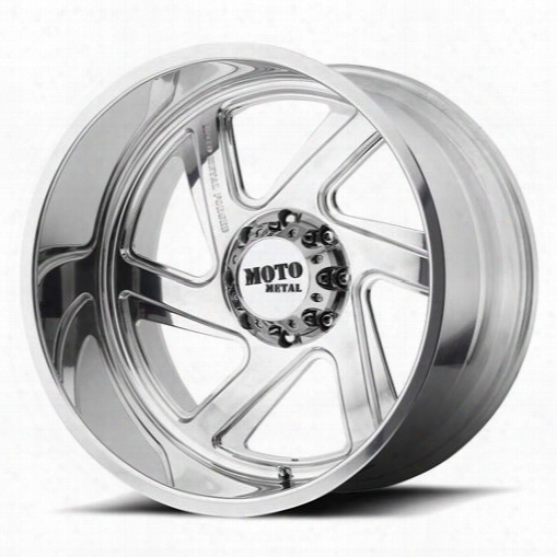Moto Metal Moto Metal Mo400, 20x14 Wheel With 5x5 Bolt Pattern - Polished - Mo40020455176nl Mo40020455176nl Moto Metal Wheels