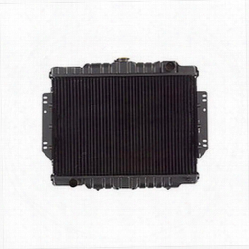 Omix-ada Omix-ada Replacement 2 Core Radiator For Amc 6 Or 8 Cylinder Engine With Automatic Transmission - 17101.09 17101.09 Radiator