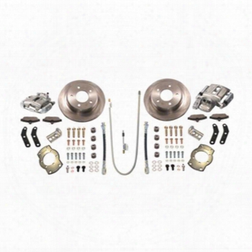 Stainless Steel Brakes Stainless Steel Brakes Rear Drum To Disc Brake Conversion Kit (natural) - A136-1 A136-1 Disc Brake Conversion Kits