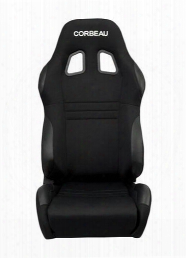 Corbeau Corbeau A4 Racing Seat Wide Version (black) - 60091wpr 60091wpr Seats