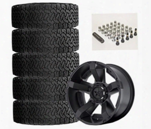 Genuine Packages Bf Goodrich All-terrain T/a Ko2 35x12.50r17 And Xd Series Xd811 17x9 Wheel Package - Set Of 5 - Tirepkg49 Tirepkg49 Tire And Wheel Pa