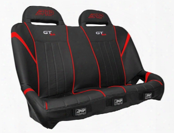 Prp Prp Gt/s.e. Suspension Bench, Black And Red - A60-237 A60-237 Utv Seats