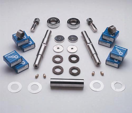 Stainless Steel Brakes Stainless Steel Brakes Royal Stainless Steel Needle Bearing King Pin Kit - A24128 A24128 Steering King Pin Set