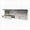 Westin Westin Brute Pro Series Contractor Top Sider Tool Box - 80-TBS200-60-BD 80-TBS200-60-BD Truck Bed Side Rail Tool Box