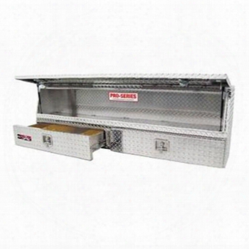 Westin Westin Brute Pro Series Contractor Top Sider Tool Box - 80-tbs200-48 80-tbs200-48 Truck Bed Side Rail Tool Box