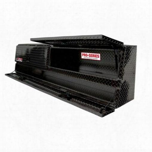 Westin Westin Brute Pro Series Contractor Top Sider Tool Box - 80-tbs200-60-b 80-tbs200-60-b Truck Bed Side Rail Tool Box