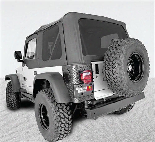 Rugged Ridge Rugged Ridge Xhd Replacement Soft Top With Tinted Windows (black) - 13728.01 13728.01 Soft Tops