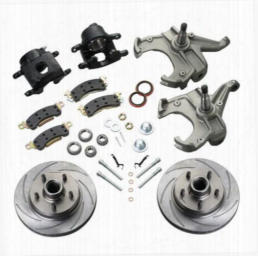 Stainless Steel Brakes Stainless Steel Brakes Drum To Disc Brake Conversion Kit (natural) - A126-32 A126-32 Disc Brake Conversion Kits