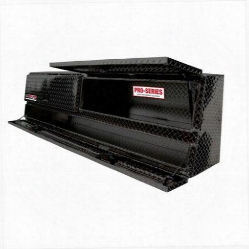Westin Westin Brute Pro Series Contractor Top Sider Tool Box - 80-tbs200-96d-b 80-tbs200-96d-b Truck Bed Side Rail Tool Box
