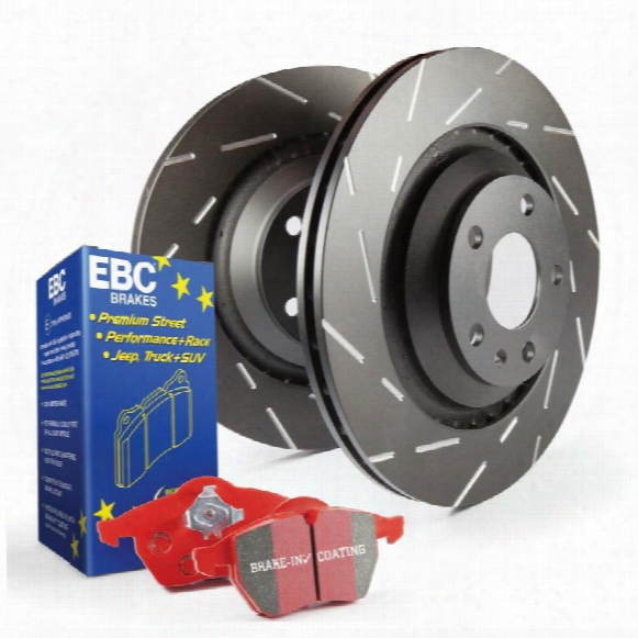 Ebc Brakes Ebc Brakes S4 Kits Redstuff And Usr Rotor - S4kf1164 S4kf1164 Disc Brake Pad And Rotor Kits