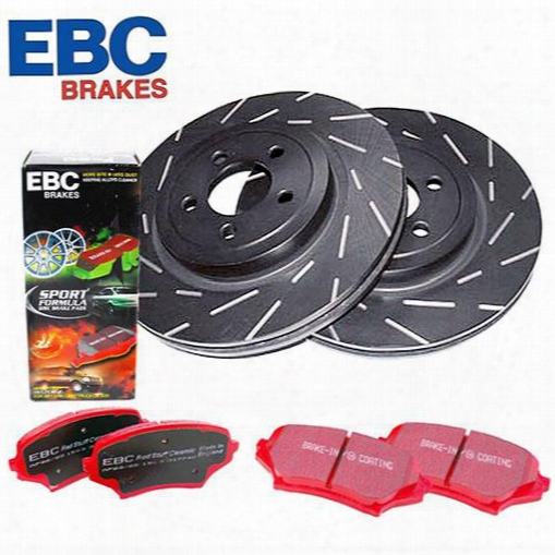 Ebc Brakes Ebc Brakes Stage 4 Signature Brake Kit - S4kf1092 S4kf1092 Disc Brake Pad And Rotor Kits