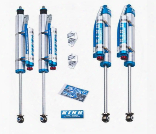 King Shocks King Shocks Performance Series Shock Kit With Compression Adjusters - 25001-280a 25001-280a Shock Absorbers