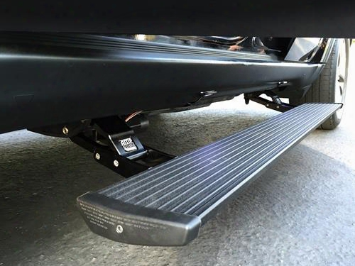 Amp-research Amp Powerstep Plug N' Play Running Boards (black) - 76153-01a 76153-01a Power Running Board