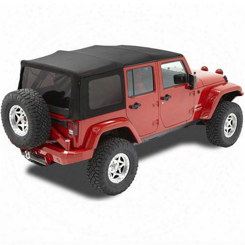 Bestop Replace-a-top Tinted Window Matte Black Twill 79837-17 Soft Top
