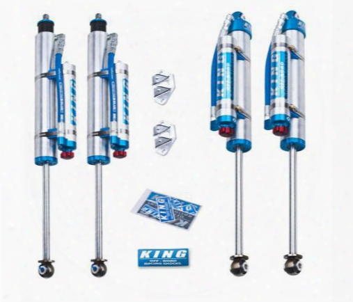 King Shocks King Shocks Performance Series Shock Kit With Compression Adjusters - 25001-281a 25001-281a Shock Absorbers