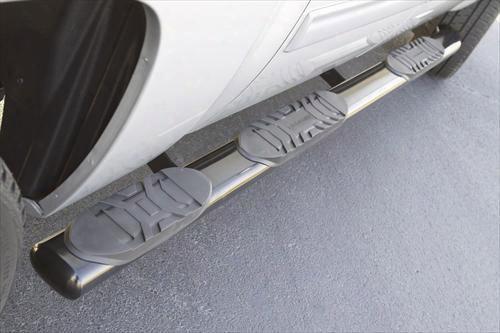 Lund Lund 5 Inch Oval Wheel-to-wheel Tube Steps - 24115042 24115042 Nerf/step Bar Wheel To Wheel