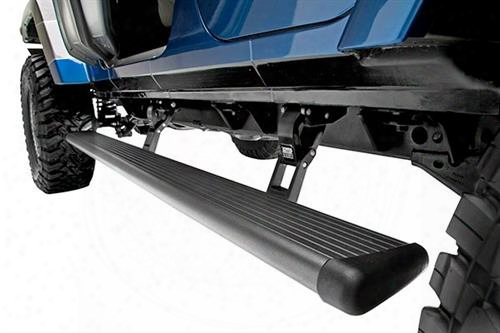 Amp-research Amp Powerstep Retractable Running Boards (black) - 76330-01a 76330-01a Power Running Board