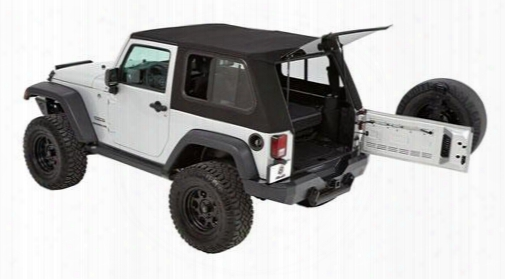 Bestop Bestop Trektop Pro Hybrid Soft Top (matte Black Twill) - 54852-17 54852-17 Soft Tops