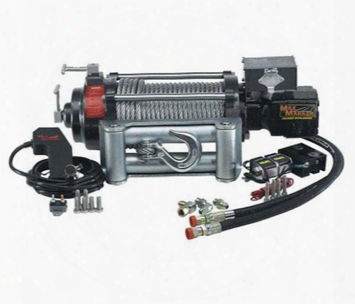 Mile Marker Mile Marker Hi9000 Hydraulic Winch - 75-50058c 75-50058c 8,000 To 10,500 Lbs. Hydraulic Winches