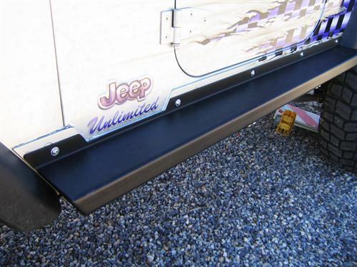 Rock Slide Engineering Rock-slide Engineering Step-slider (black) - Bd-ss-100-tj Bd-ss-100-tj Power Running Board