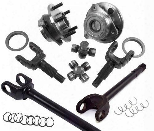 Alloy Usa Alloy Usa Dana 44 Chromoly Front Axle Kit - 12265 12265 Axle Upgrade Kits