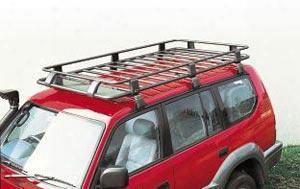 Arb 4x4 Accessories Arb Steel Roof Rack Basket With Mesh Floor - 3813010m 3813010m Roof Rack