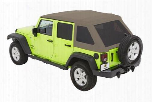 Bestop Bestop Trektop Nx Glide Soft Top With Tinted Windows (pebble Beige) - 54923-74 54923-74 Soft Tops