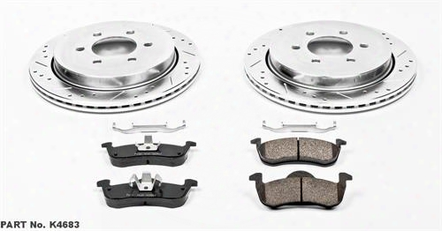 Power Stop Power Stop Performance Brake Upgrade Kit - K5577 K5577 Disc Brake Pad And Rotor Kits