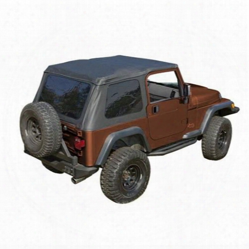 Rugged Ridge Rugged Ridge Bowless Xhd Soft Top (black Diamond) - 13750.35 13750.35 Soft Tops