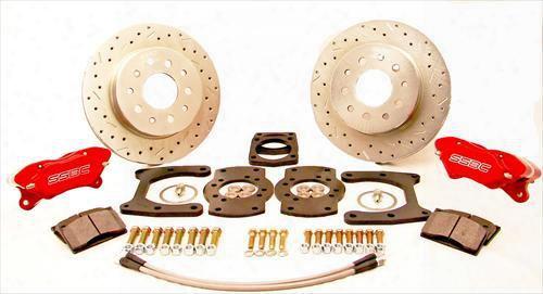 Stainless Steel Brakes Stainless Steel Brakes Competition Disc Brake Conversion Kit (anodized) - W111-63 W111-36 Disc Brake Conversion Kits