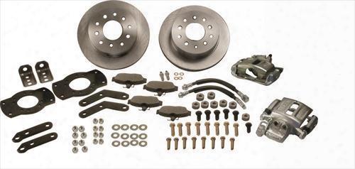 Stainless Steel Brakes Stainless Steel Brakes Disc Brake Conversion Kit (natural) - W111-3 W111-3 Disc Brake Conversion Kits
