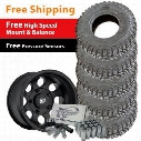 Genuine Packages Pro Comp Xtreme MT2 Tire 33x12.5R15 and Pro Comp Series 7069 Wheel 15x8 Package - Set of 5 - TirePKG64 TIREPKG64 Tire and Wheel Packa