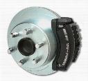Stainless Steel Brakes Stainless Steel Brakes Super TRKR1 1-Piston Drum to Disc Brake Conversion Kit (Black) - A126-3BK A126-3BK Disc Brake Conversion
