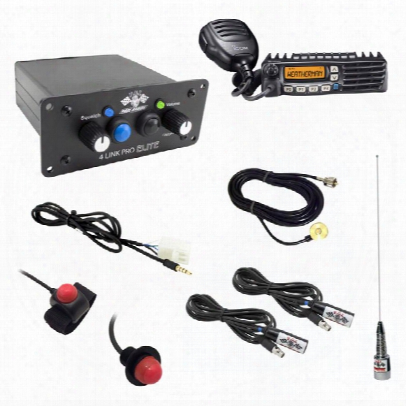 Pci Race Radios Pci Race Radios Builder 2 Seat Package With Bluetooth And Dsp - 2479 2479 Utv Communications