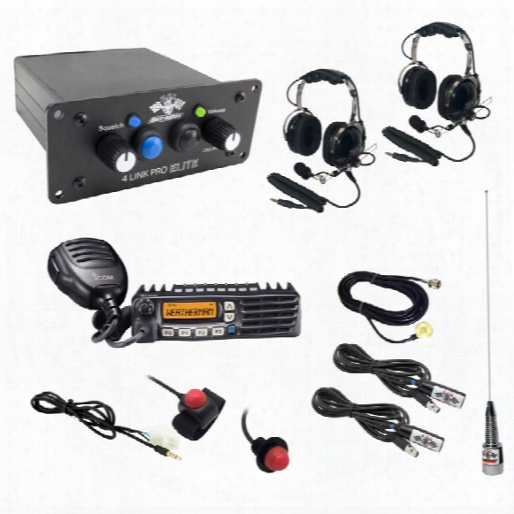 Pci Race Radios Pci Race Radios Ultimate 2 Seat Package With Headrests - Bluetooth And Dsp Upgrade - 2490 2490 Utv Communications