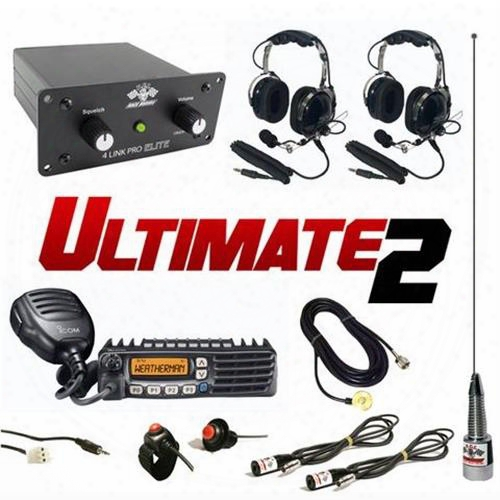 Pci Race Radios Ultimate 2 Seat Package With Bluetooth 2494 Utv Communications