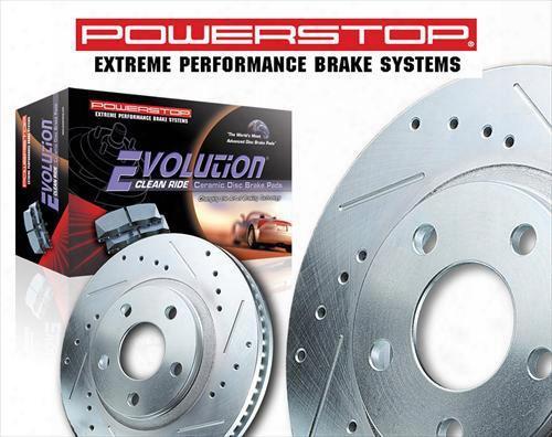 Power Stop Power Stop Performance Brake Upgrade Kit - K5585 K5585 Disc Brake Pad And Rotor Kits