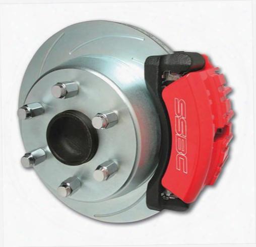 Stainless Steel Brakes Stainless Steel Brakes Tri-power 3-piston Disc To Disc Upgrade Kit (anodized) - A126-46 A126-46 Disc Brake Conversion Kits
