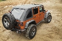 Rugged Ridge Rugged Ridge Montana Bowless Soft Top with Tinted Windows (Black Diamond) - 13790.38 13790.38 Soft Tops