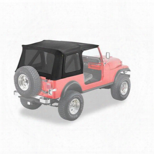 Bestop Supertop Replacement Skin, Tinted Windows - Jeep Soft Tops